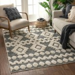 Well Woven Southwestern Flatweave Gray Off White Area Rug Reviews