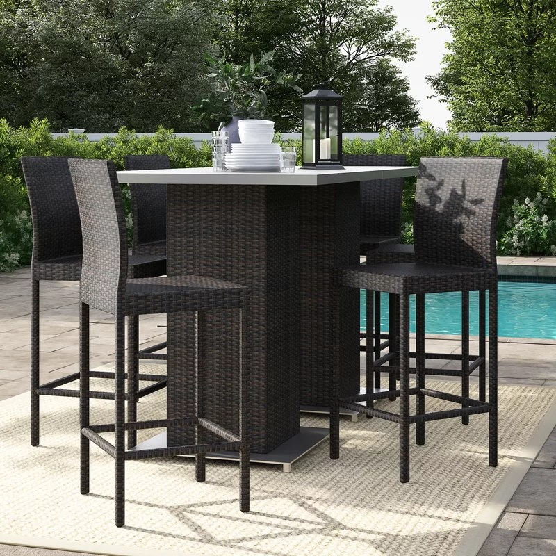fernando rectangular 35 5 long bar height dining set