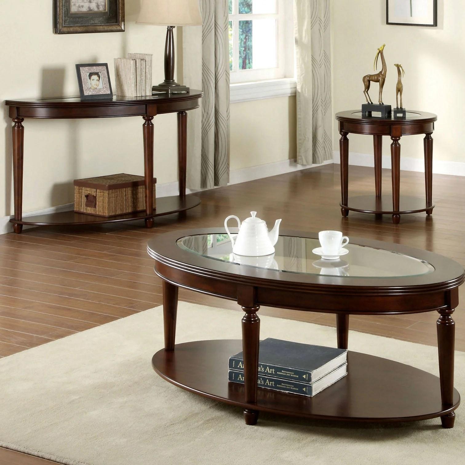 half circle coffee table sets you ll