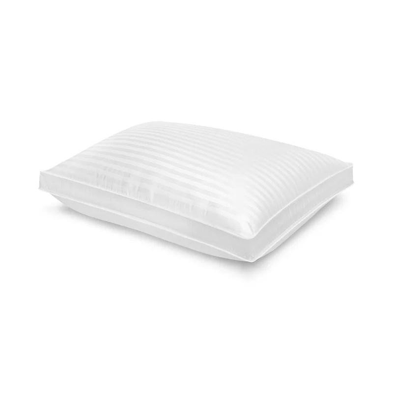 memory foam standard medium support pillow