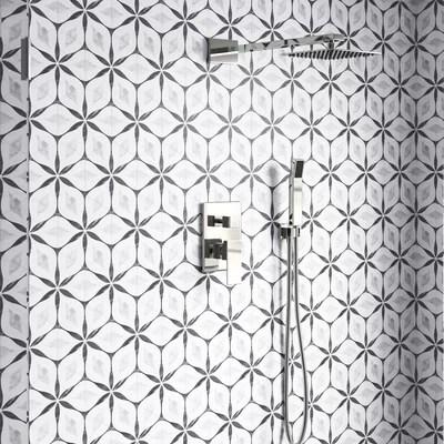 kathryn hexagon 7 x 8 porcelain field