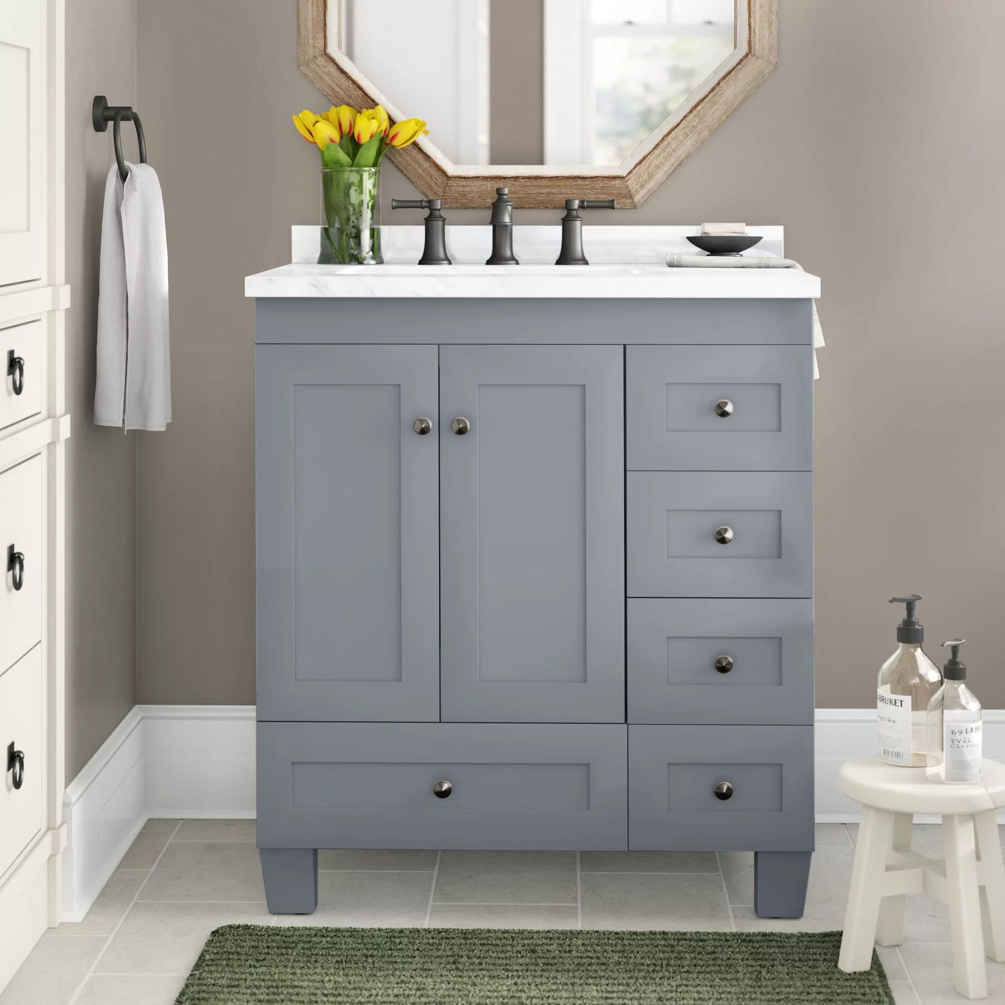 30 inch gray bathroom vanities free