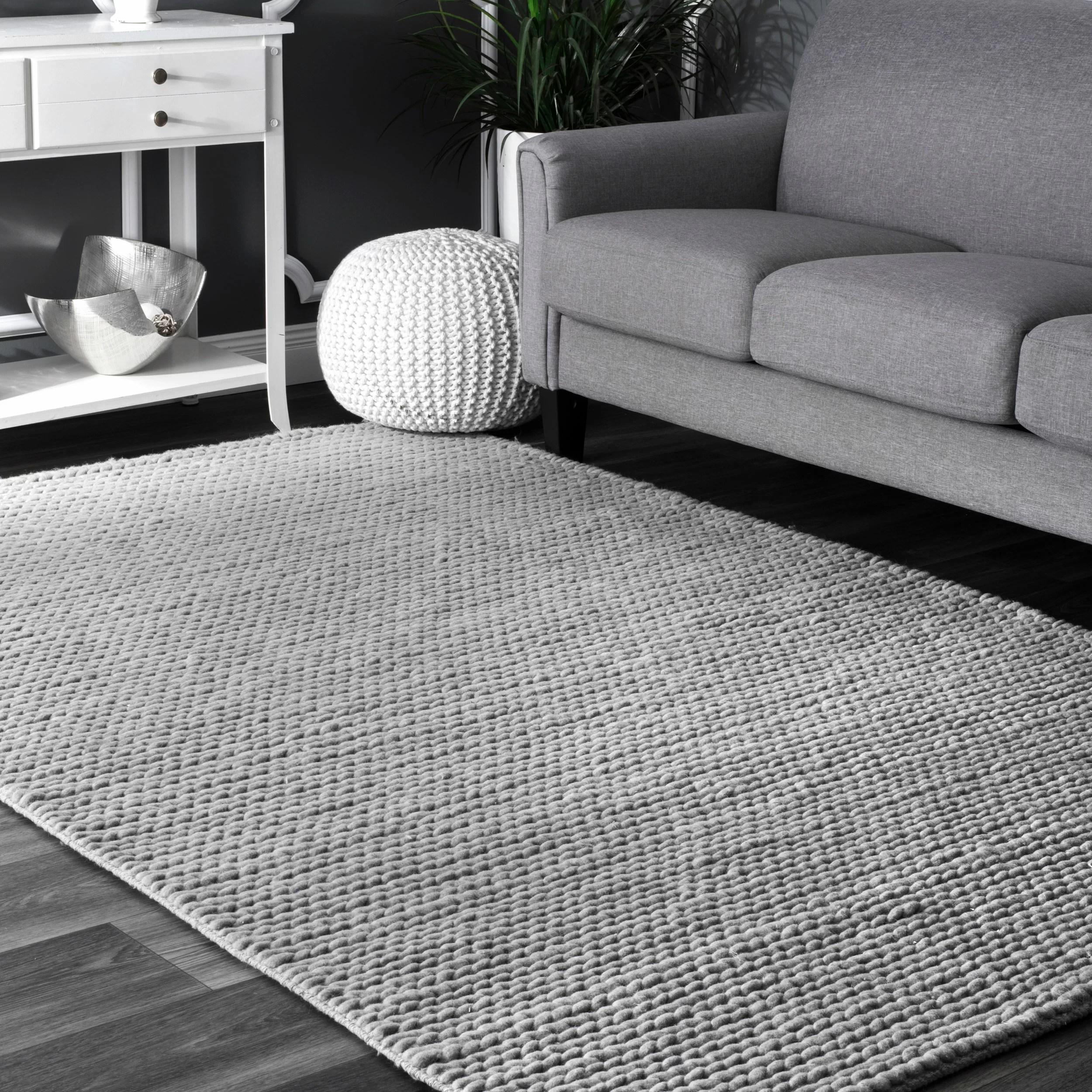 Gray Living Room Rug