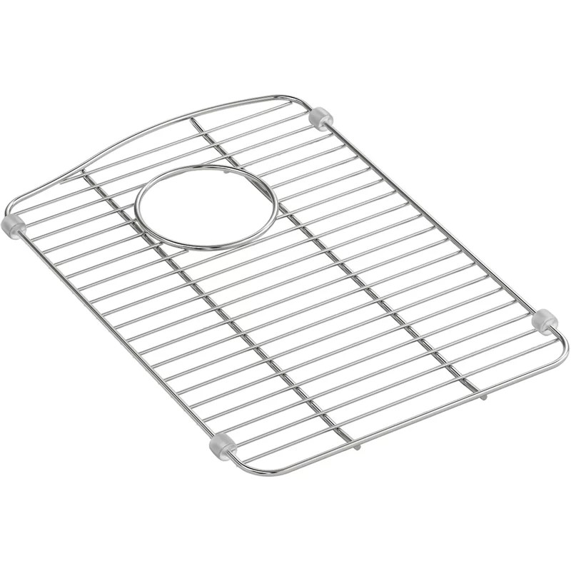 kennon small stainless steel sink rack