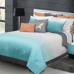 Blue Ombre Bedding Wayfair
