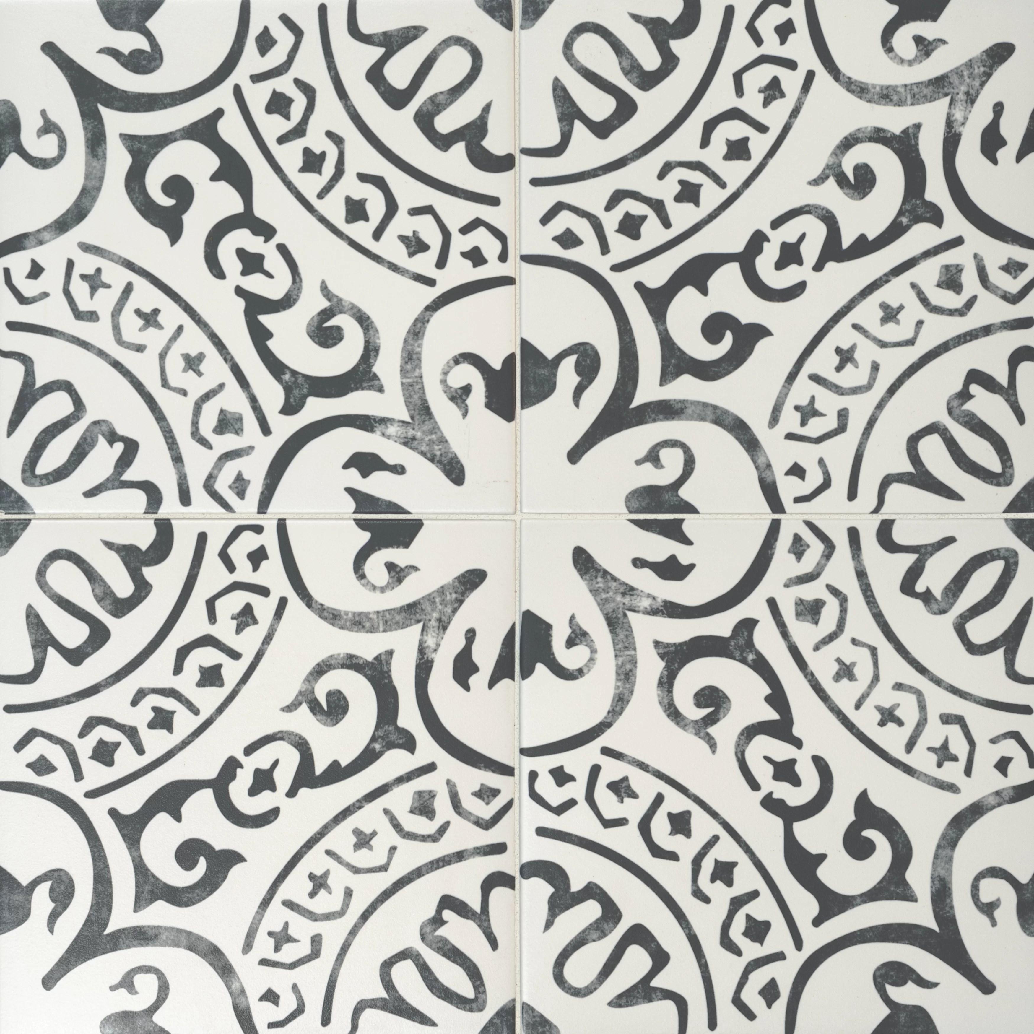msi kenzzi 8 x 8 porcelain spanish wall floor tile reviews wayfair