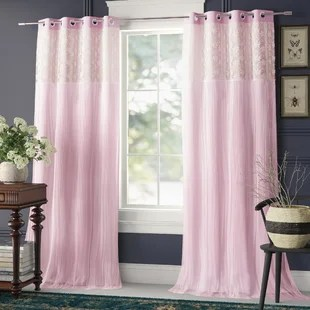 larue solid blackout thermal grommet curtain panels set of 2