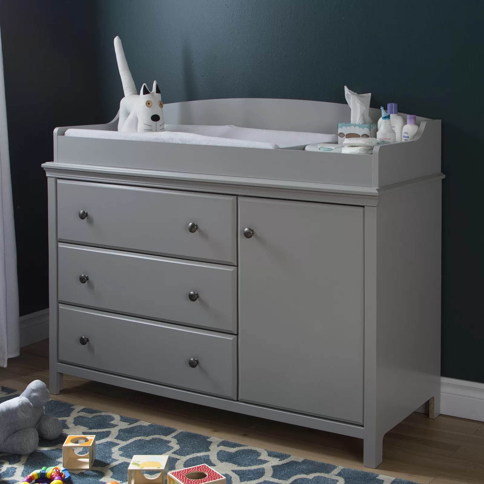 grey changing tables you ll love in