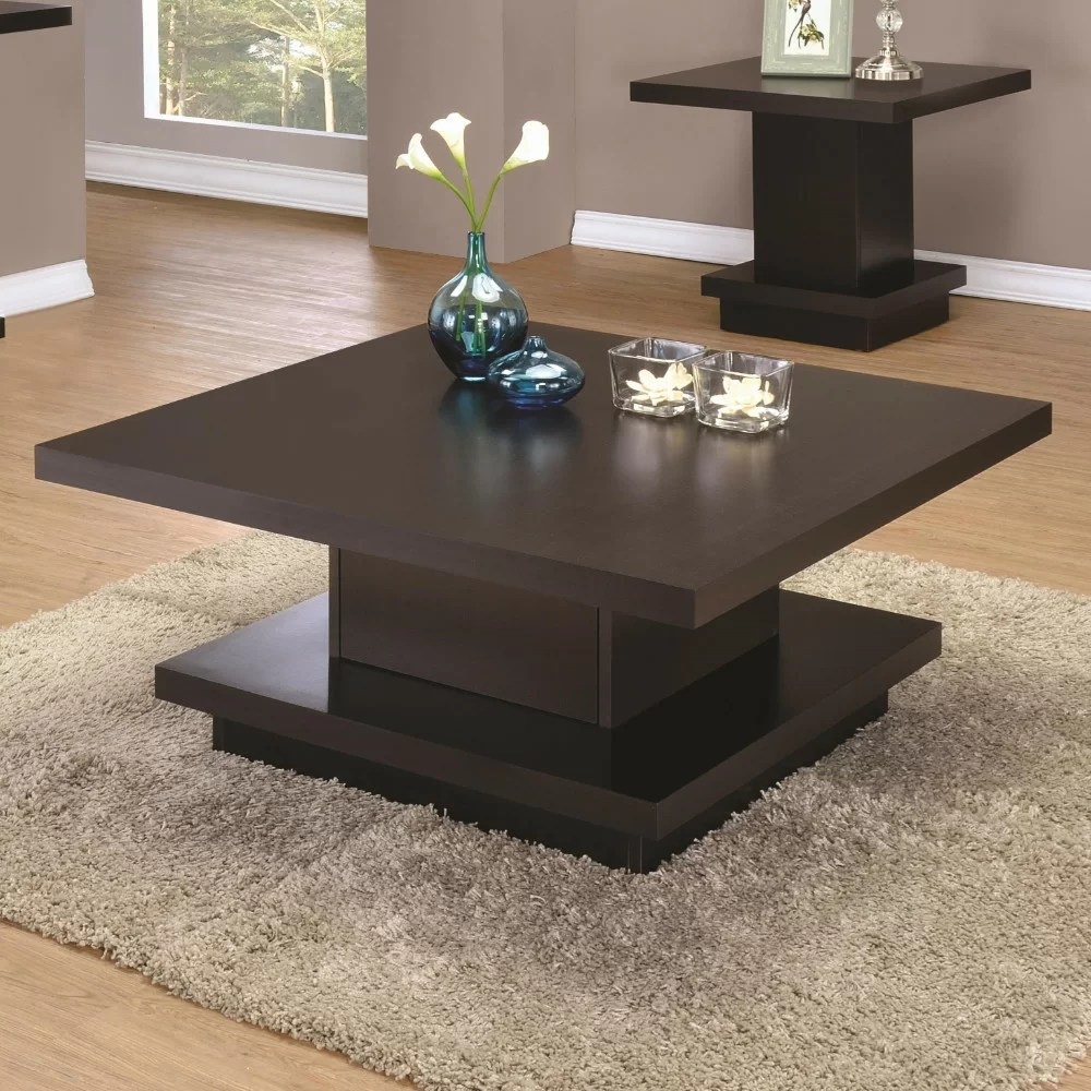 emmi contemporary coffee table with storage