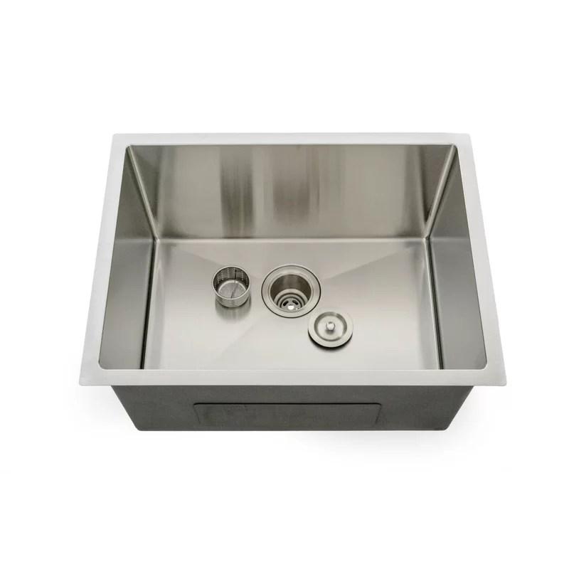 lavendaria series 24 l x 18 w undermount laundry sink