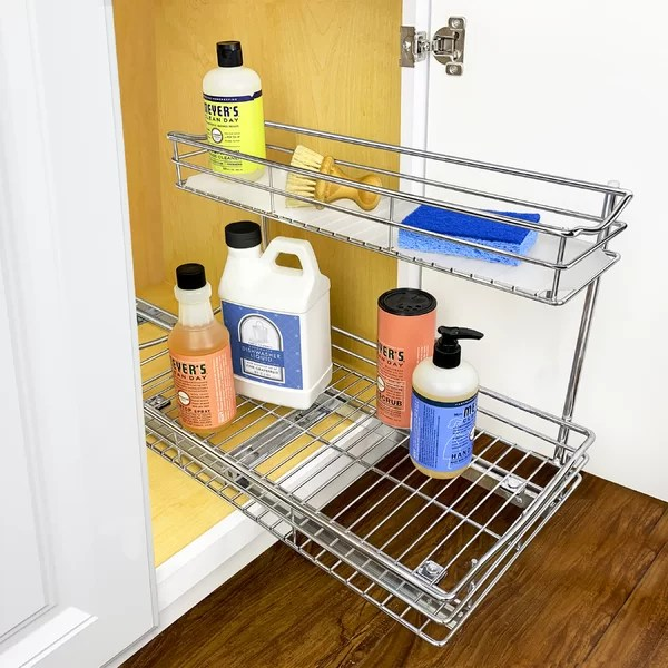 under sink pull out storage