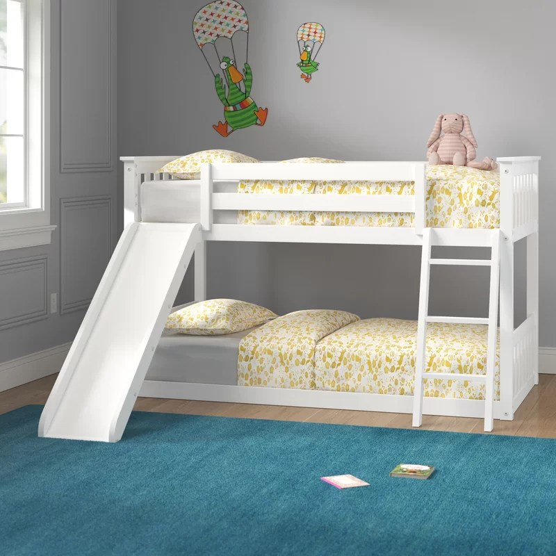 jeniffer twin over twin bunk bed