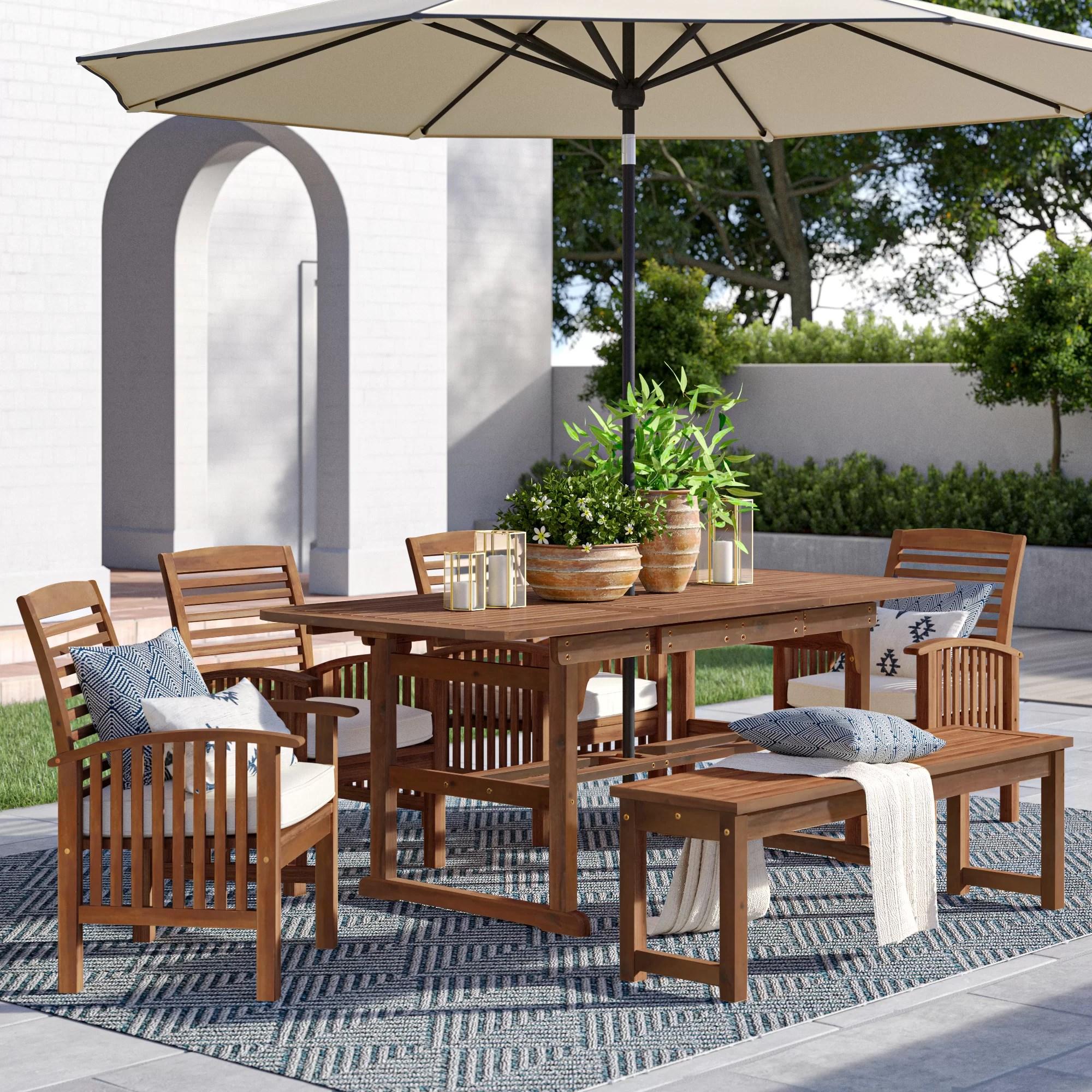 wood outdoor furniture joss main