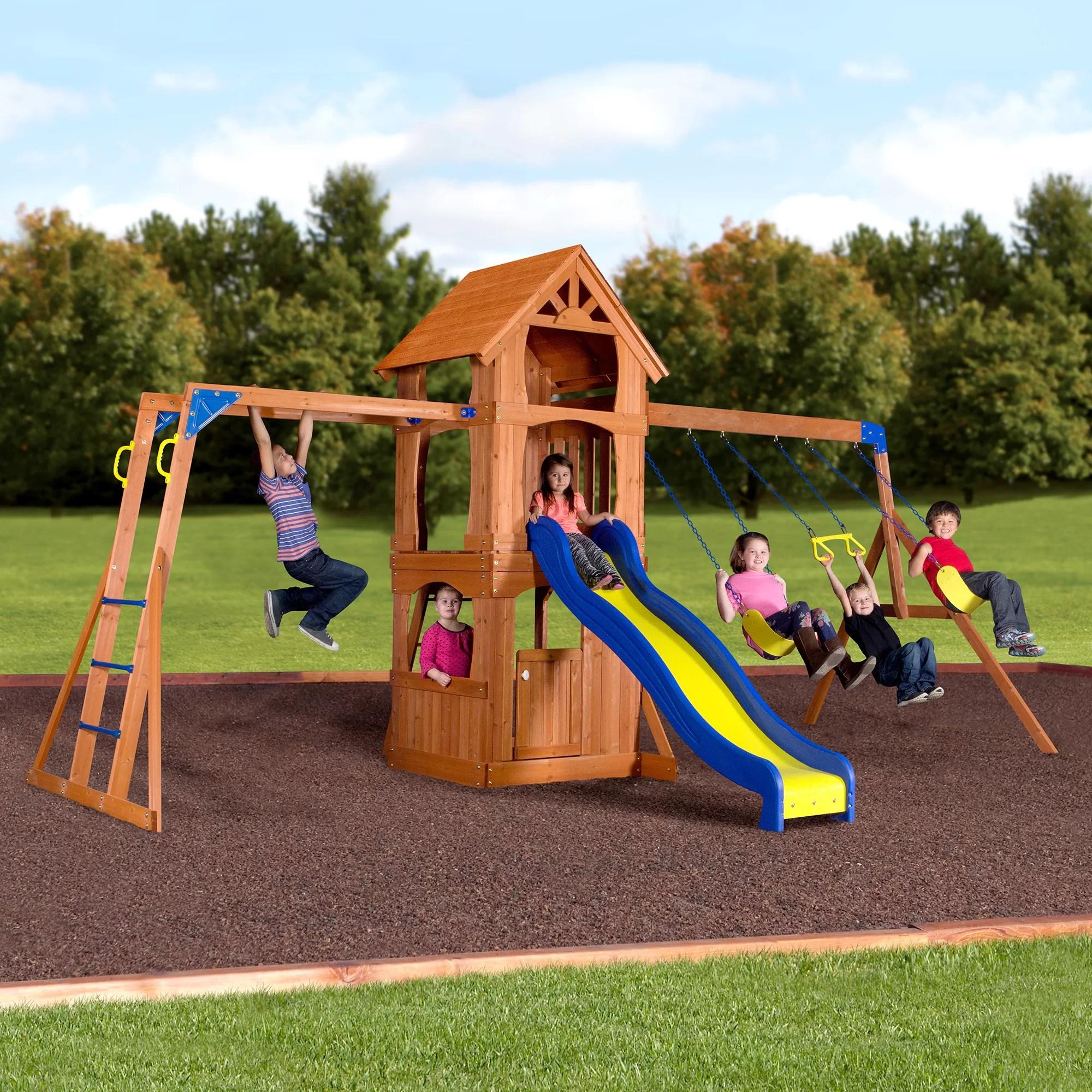 parkway swing set wayfair exclusive