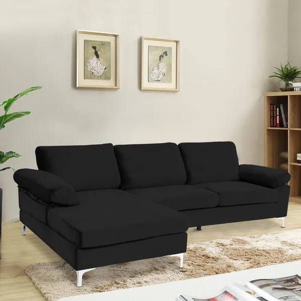 extra long sectional