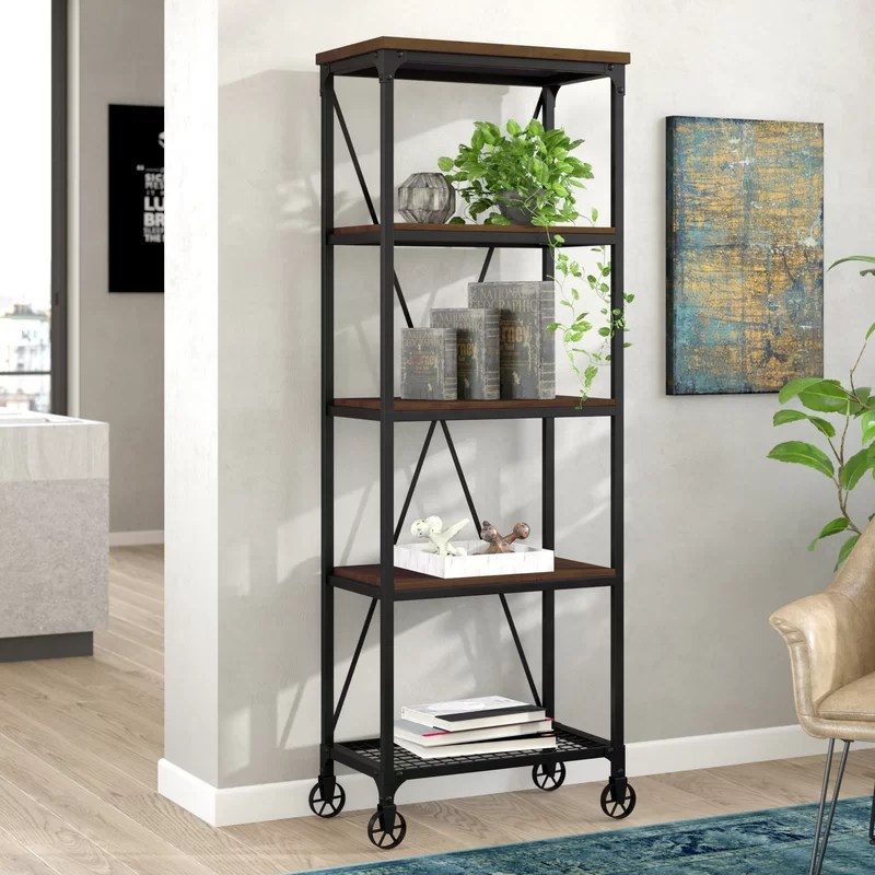 Rocklin Etagere Bookcase