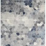 Wrought Studio Capodanno Geometric Navy Gray Area Rug Reviews Wayfair