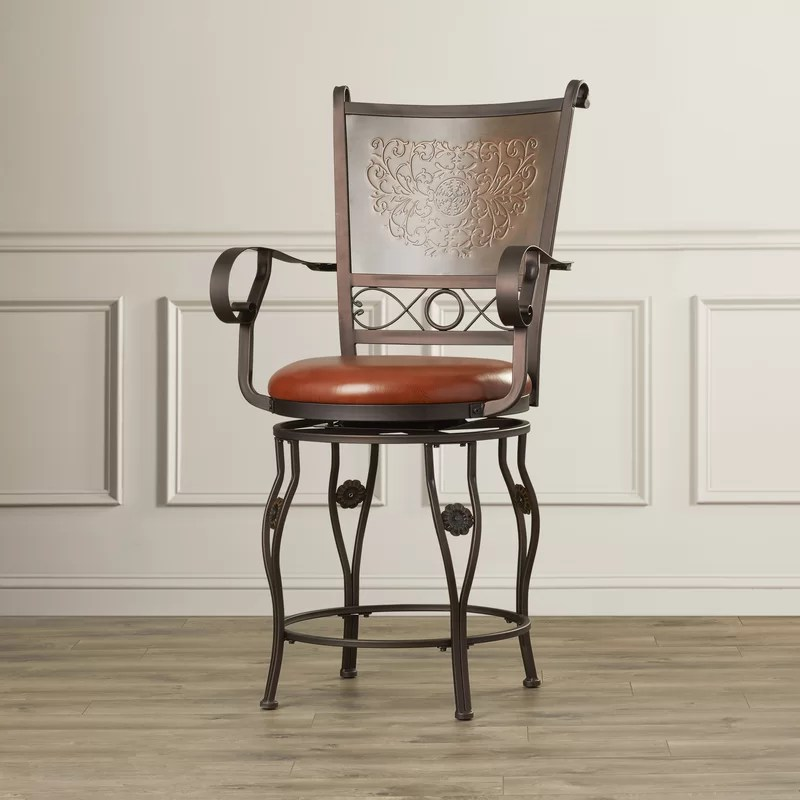 Darlington Swivel Bar & Counter Stool