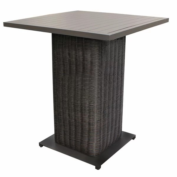 bar height patio tables
