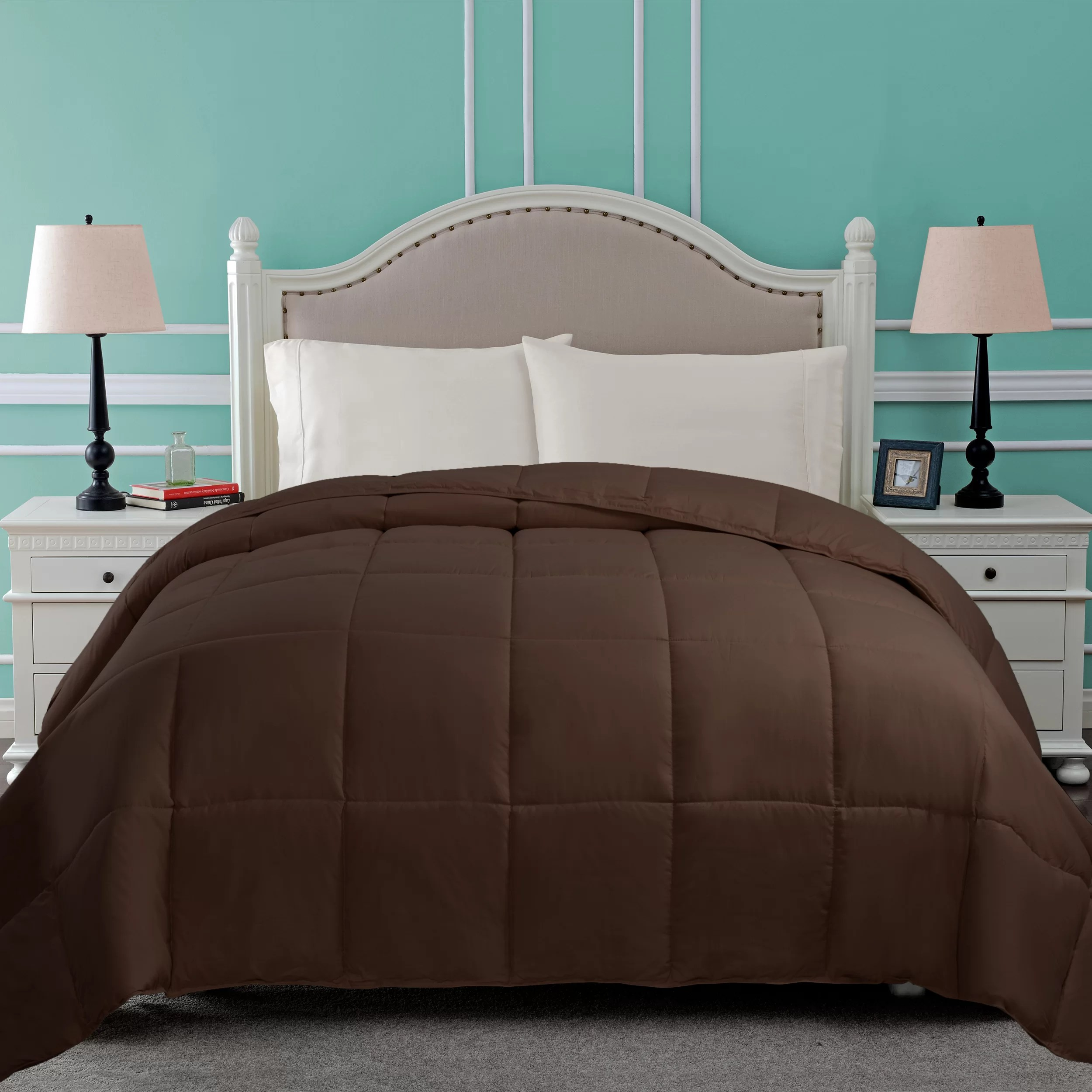 brown king size comforters sets you