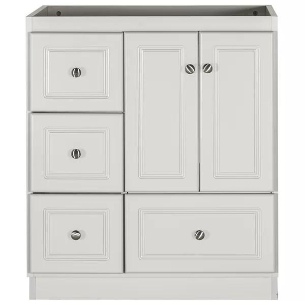 left side drawers vanity