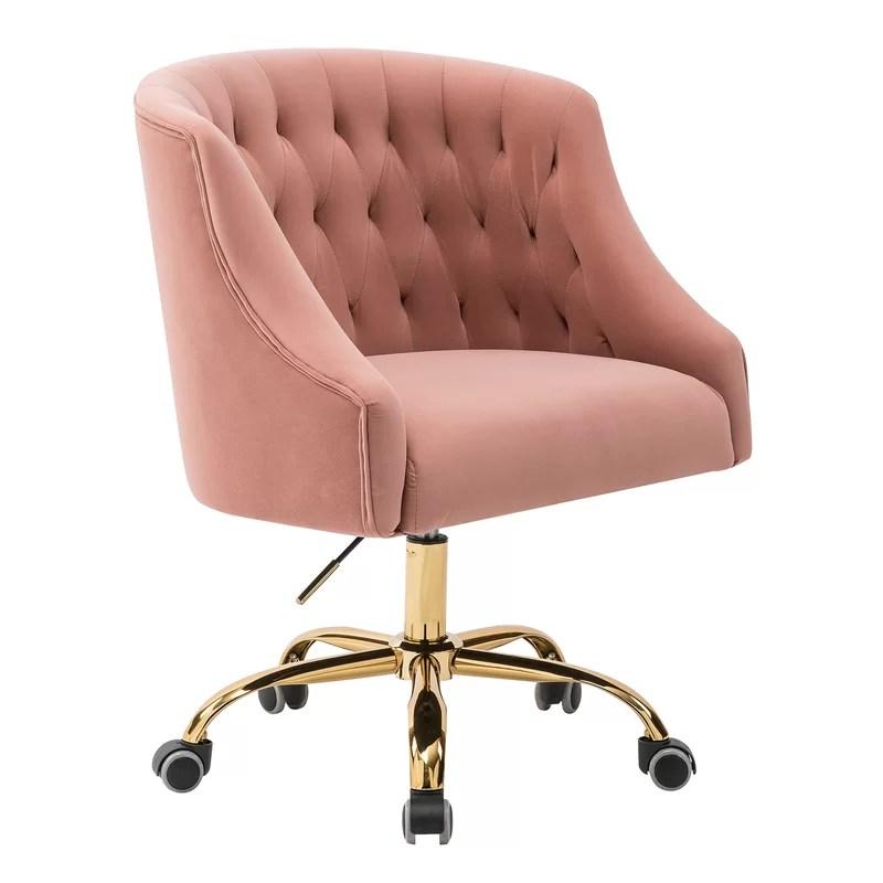 Pink Girl Desk Chair