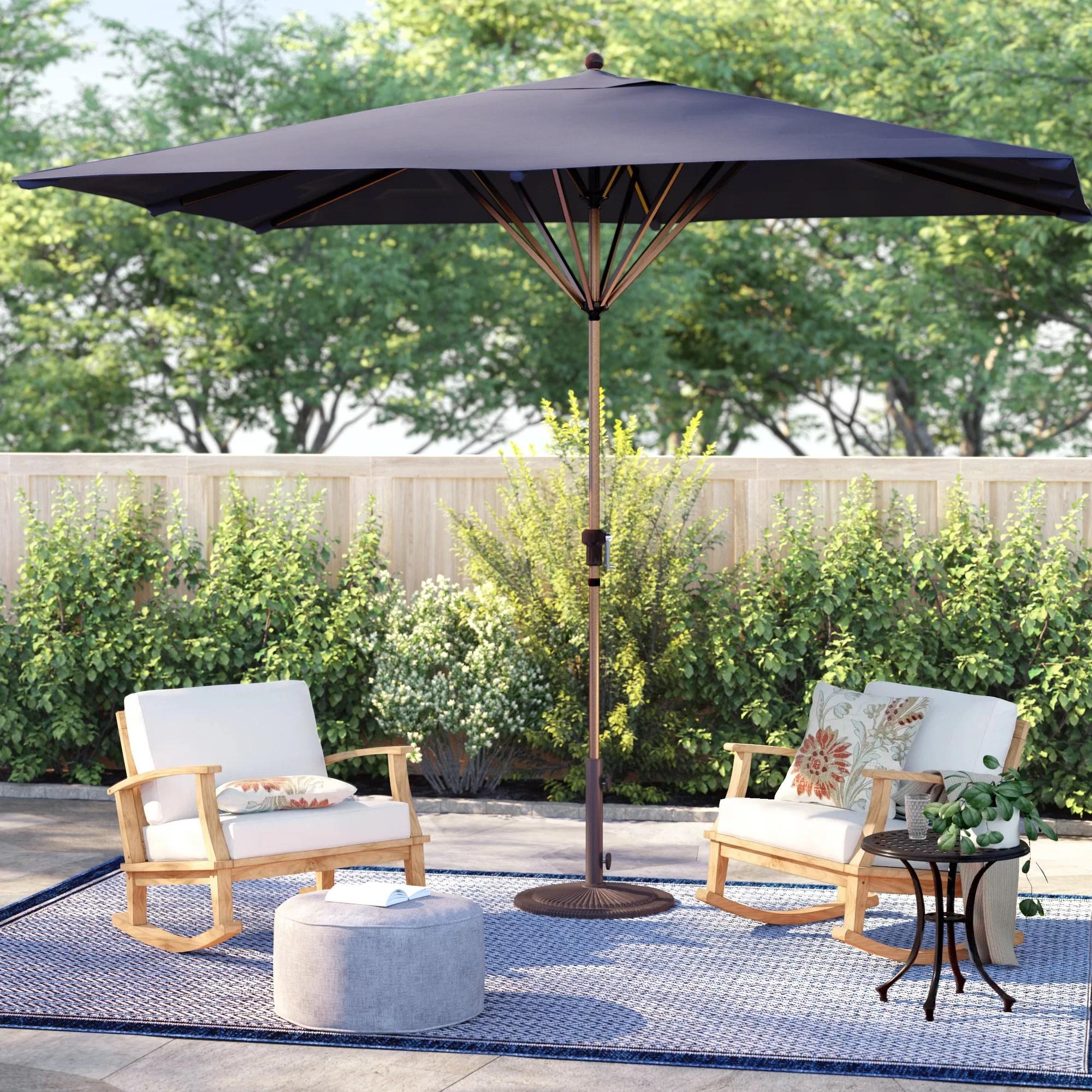 rectangular 8 x 11 ft patio umbrella w