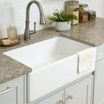 Demana 33 Fireclay Single Bowl Kitchen Sink White Farmhouse Sink