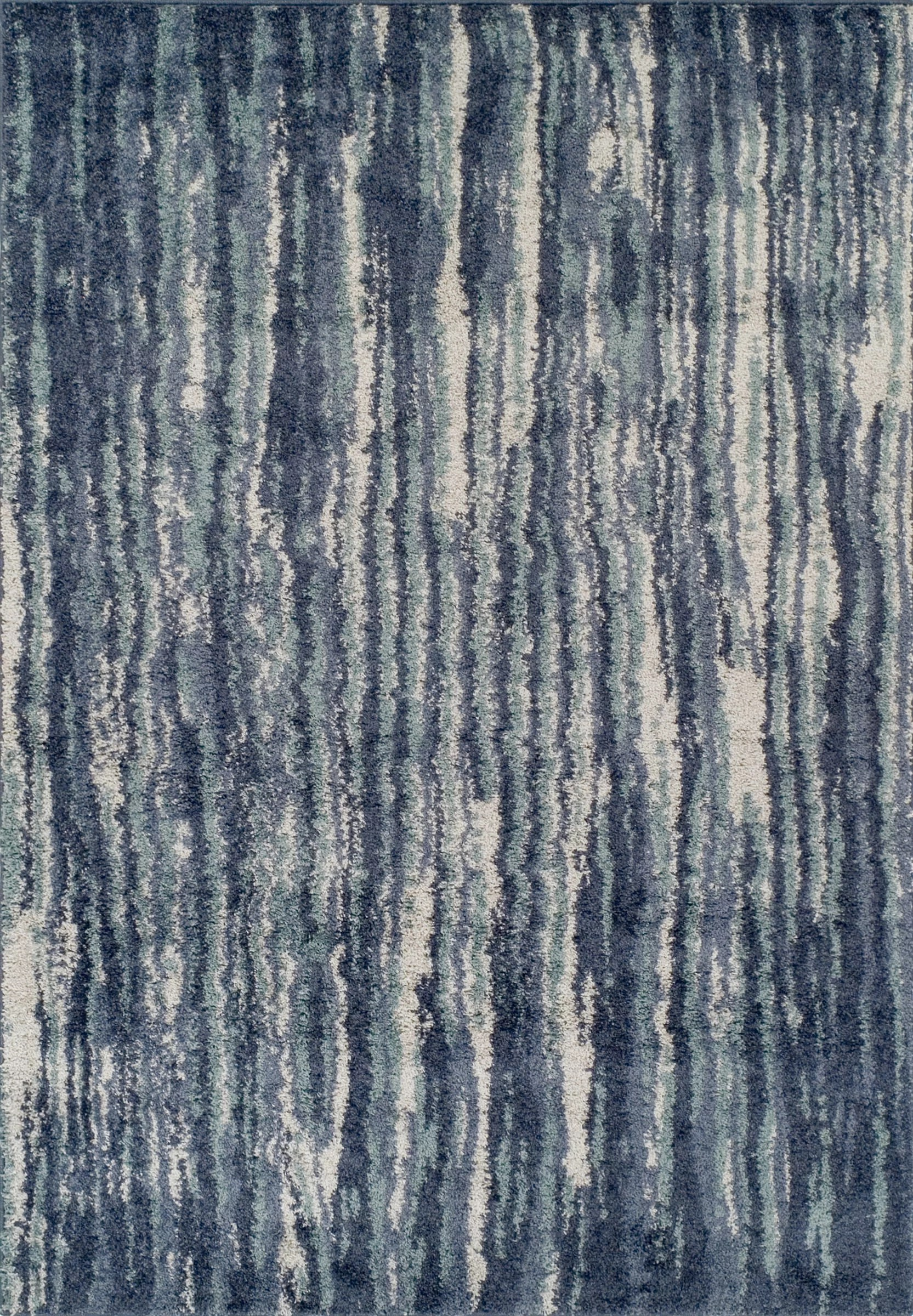 Williston Forge Samella Abstract Blue Gray Area Rug Reviews