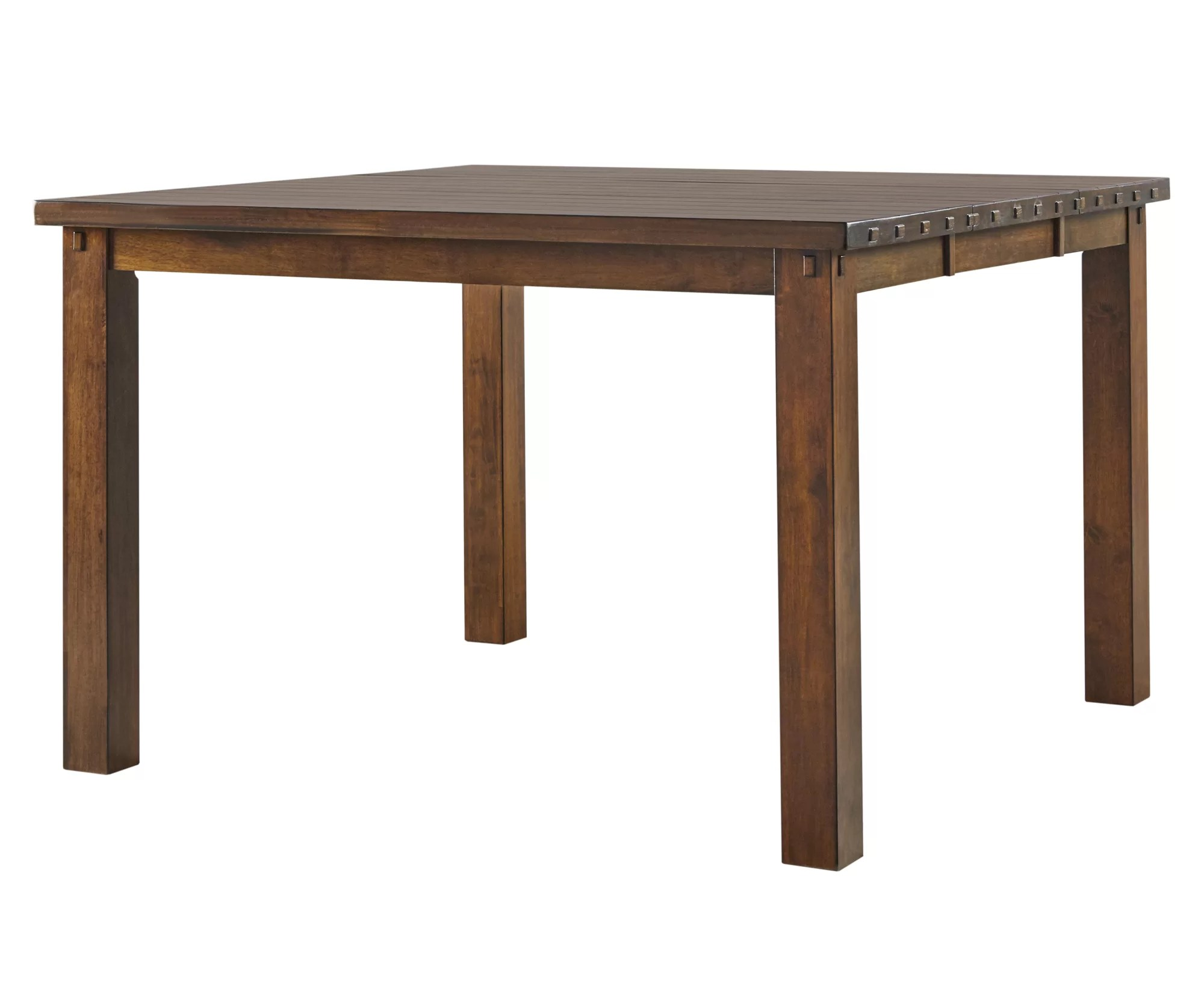 Union Rustic Eveland Counter Height Extendable Dining Table Wayfair