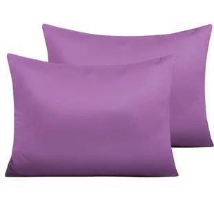 pillow case purple toddler bedding you