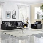 Orren Ellis Gayatri 2 Piece Leather Living Room Set Wayfair
