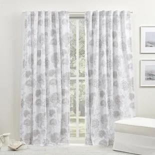 ivory cream curtains drapes