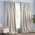 House Of Hampton Campa Extra Wide Solid Blackout Thermal Rod Pocket Single Curtain Panel Reviews Wayfair