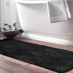Black Bath Rugs Mats Free Shipping Over 35 Wayfair