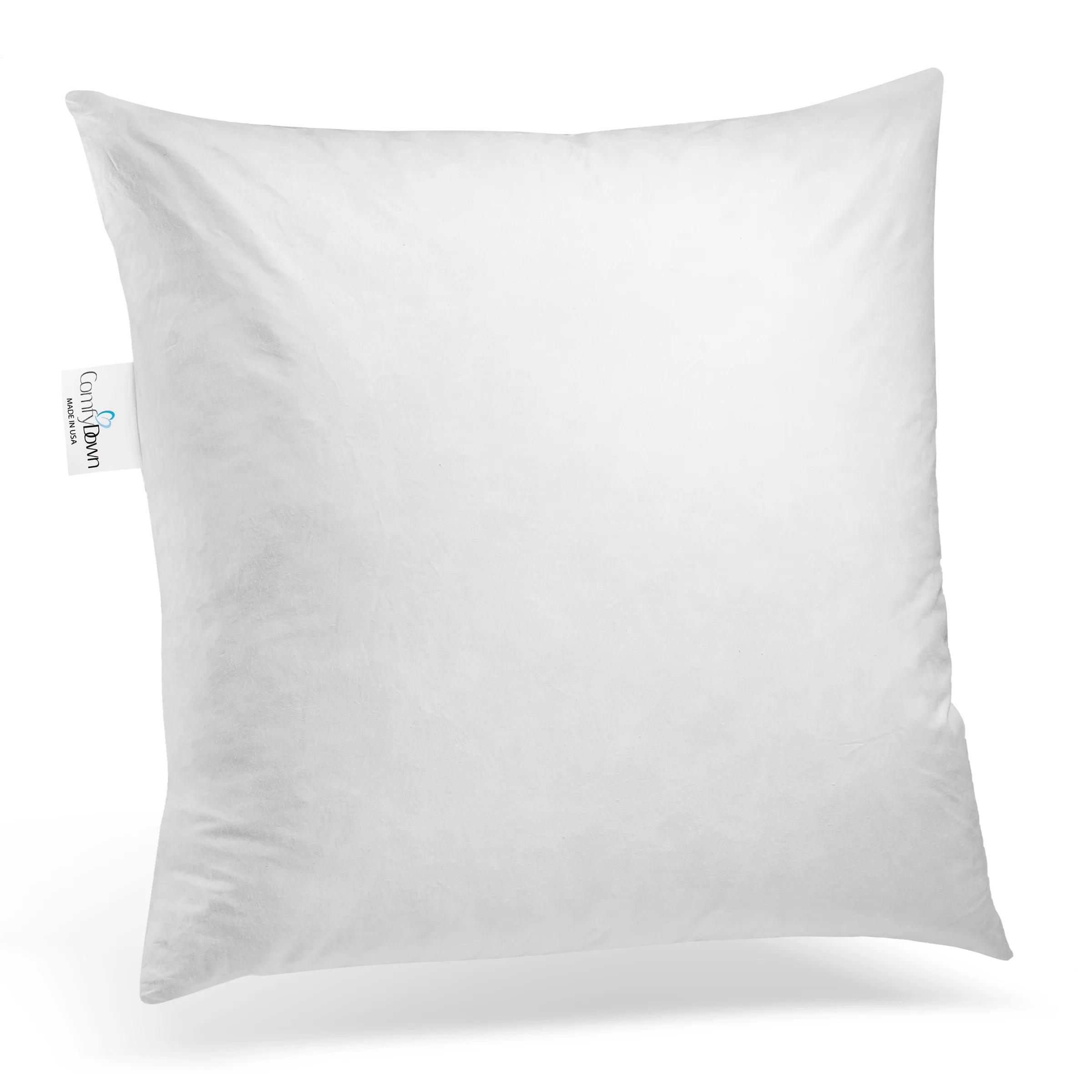 12x18 lumbar pillow insert throw