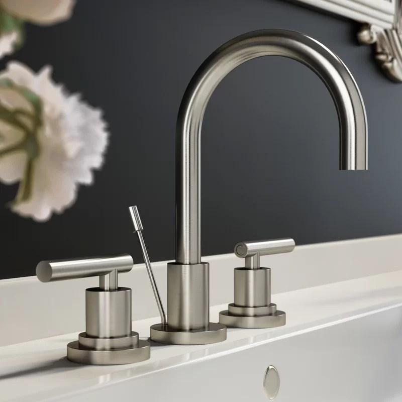 salone widespread bathroom faucet