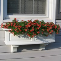 Nantucket Plastic Window Box Planter