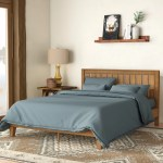 King Size Wood Beds Free Shipping Over 35 Wayfair