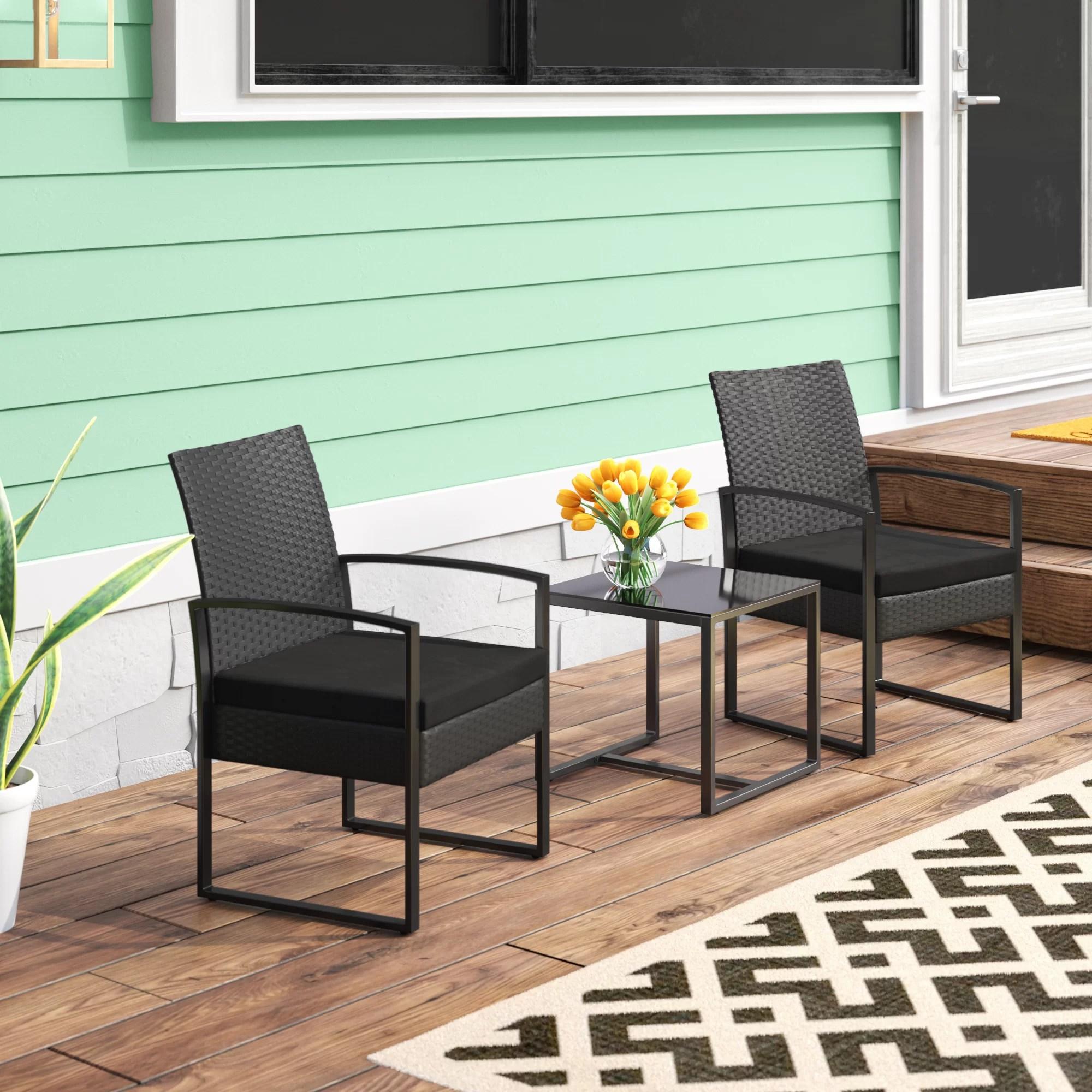9 patio sets under 200 wayfair