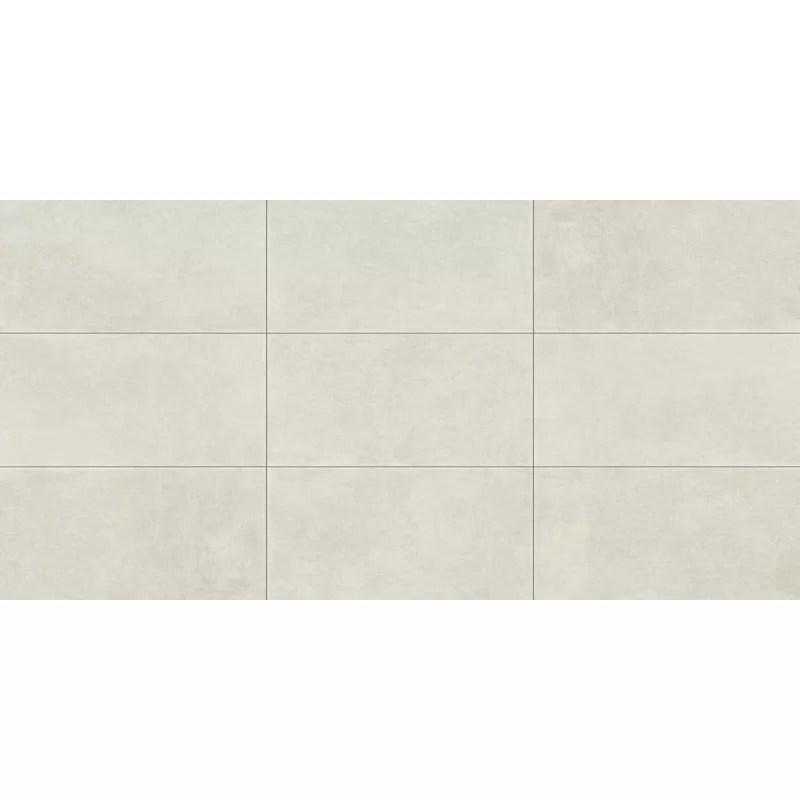 organza 24 x 48 porcelain field tile
