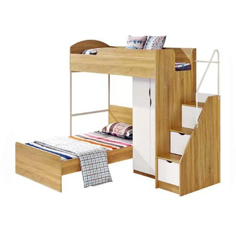 mcdonald european single l shaped bunk