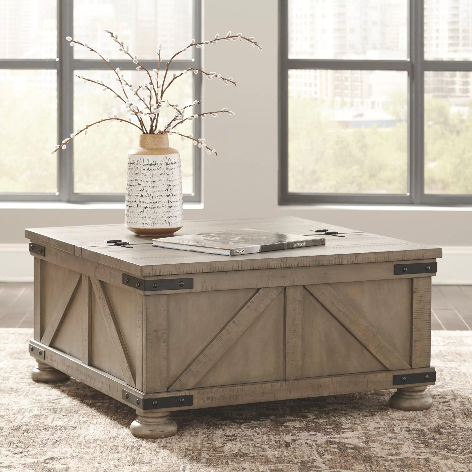 modern farmhouse coffee tables you ll
