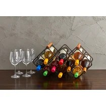https www wayfair com kitchen tabletop sb1 mid century modern wine racks c413237 a6765 436338 html