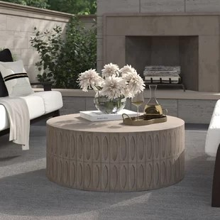 blayze concrete coffee table