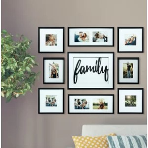 Family Picture Frames You ll Love   Wayfair Broderick 8 Piece Family Decor Picture Frame Set