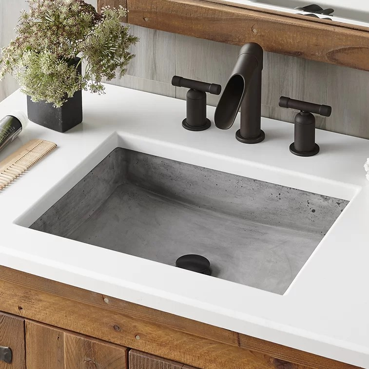native trails nipomo stone rectangular undermount bathroom sink
