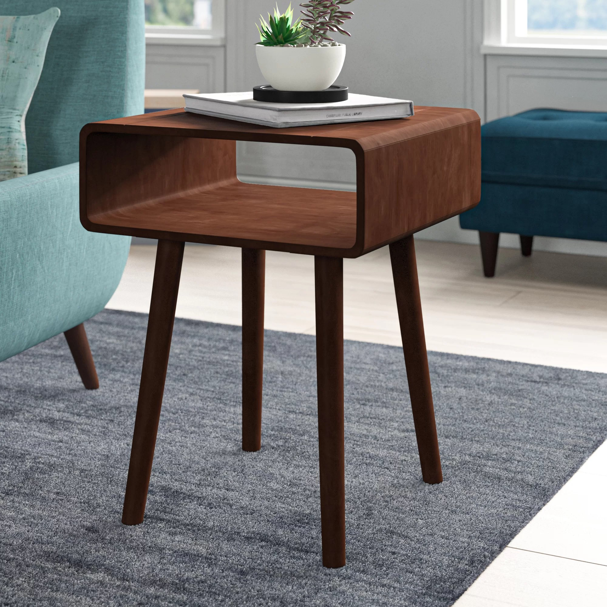 Mid Century Modern End Side Tables You Ll Love In 2020 Wayfair