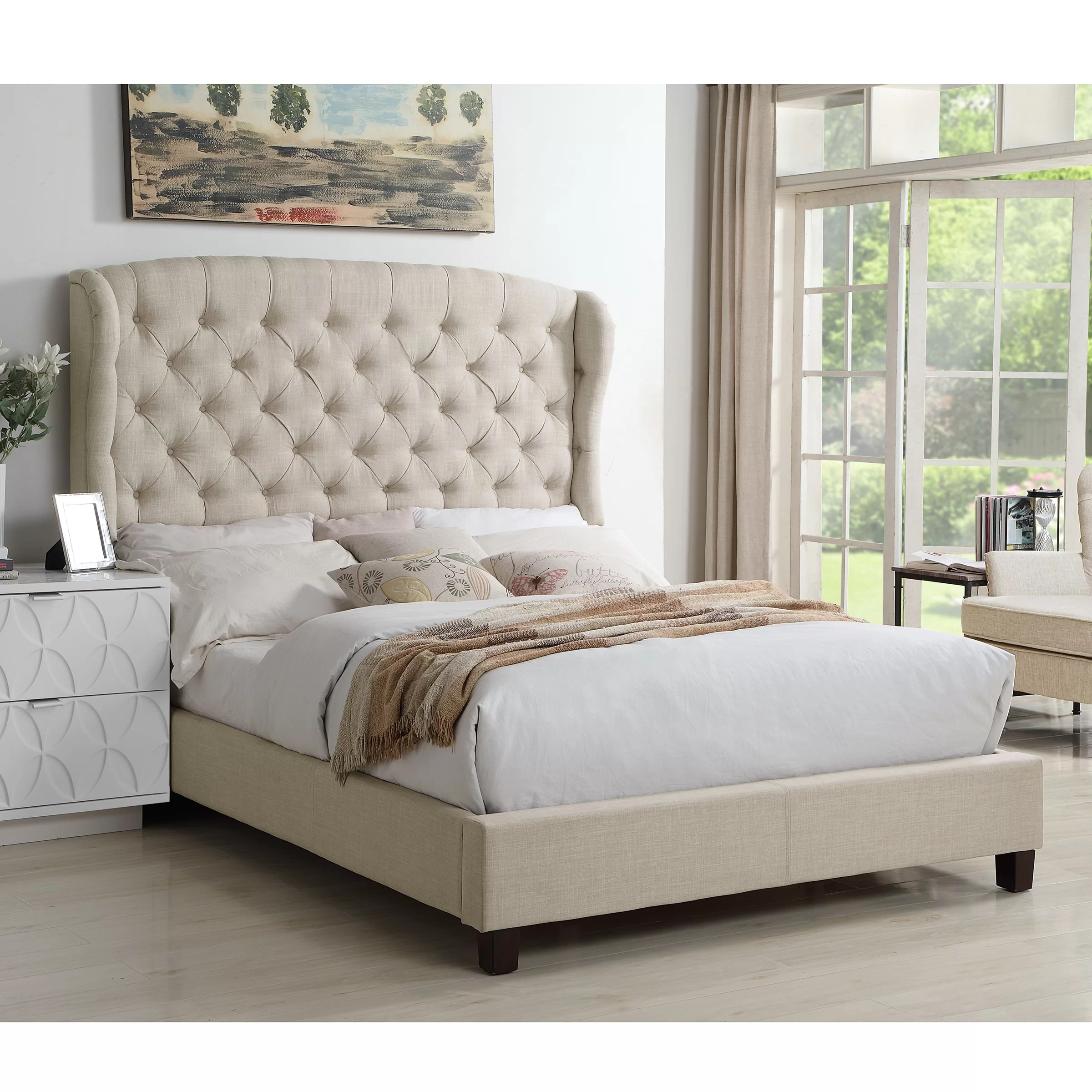 king size tufted beds you ll love in