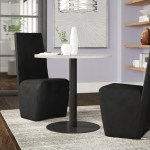 Brayden Studio Belynda White Faux Marble Table Top Dining Table Reviews